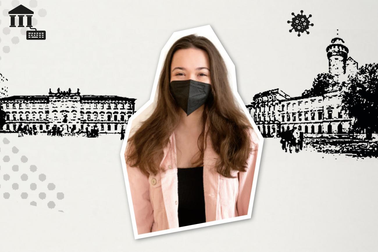 Nur mit Maske